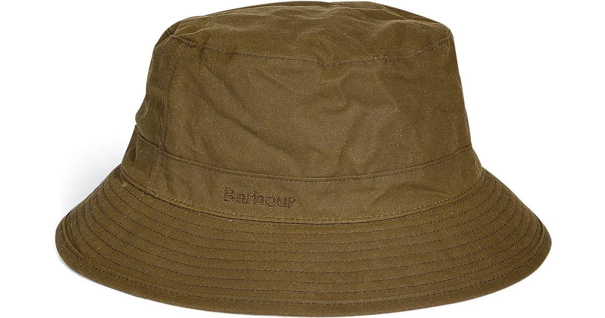 4060d83d070 Lyst - Barbour Sandstone Wax Sports Hat in Brown for Men