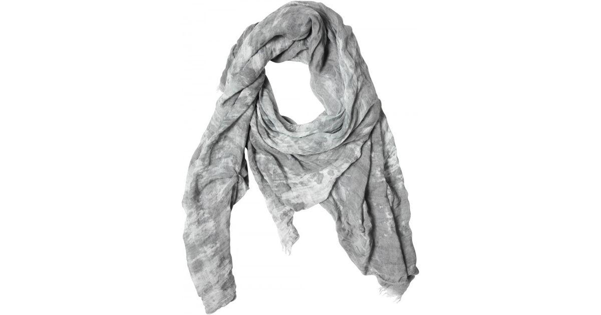 Para Mujer Tie-dye Algodón-seda Bufanda Gasa Destin 4fepenku