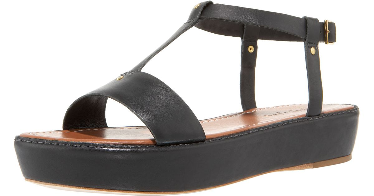 Elizabeth and James T-Strap Platform Wedges cheap sale professional hcBlD4
