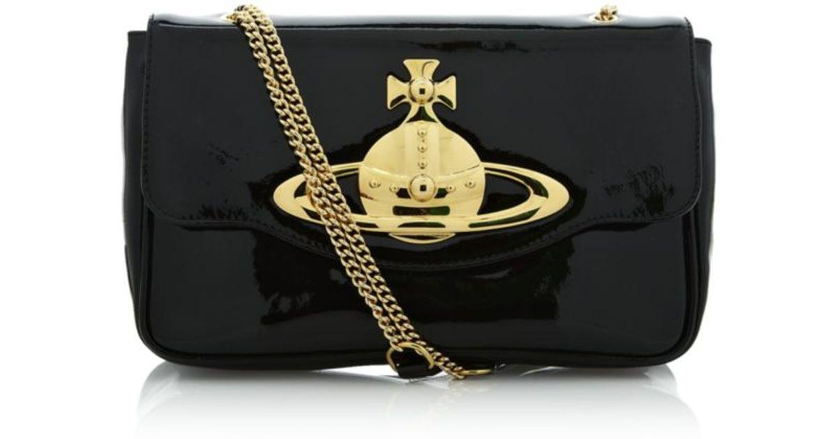 cc7b0b29dd Vivienne Westwood Classic Orb Shoulder Bag in Metallic - Lyst