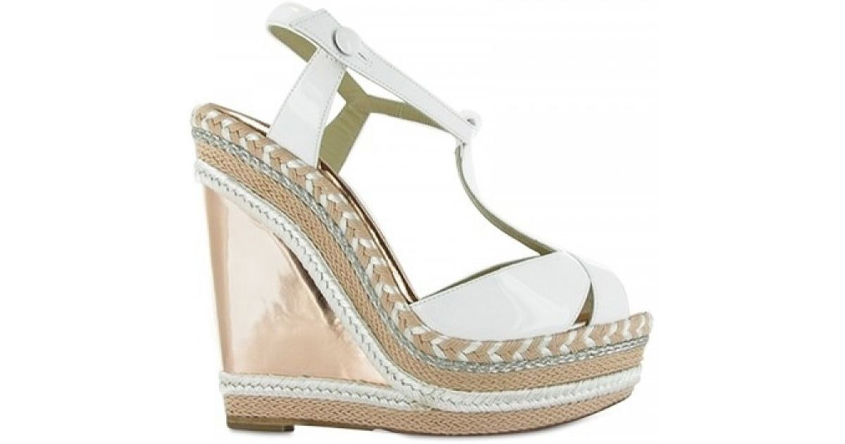 bb9657f6737 coupon for white louboutin wedges fc06c cddfa