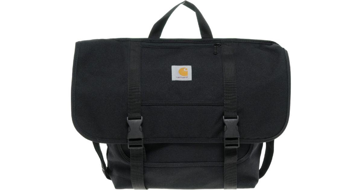 Lyst - Carhartt Parcel Messenger Bag in Black for Men