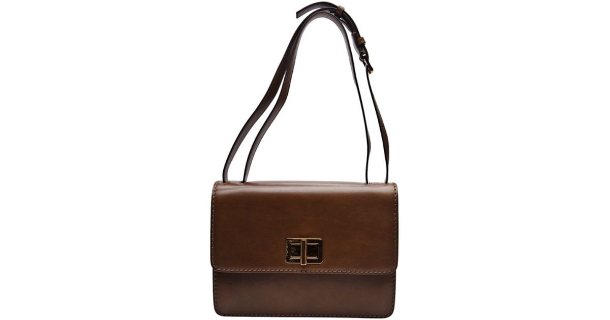 413392a2ab85 Chloé Louise East West Bag in Brown - Lyst