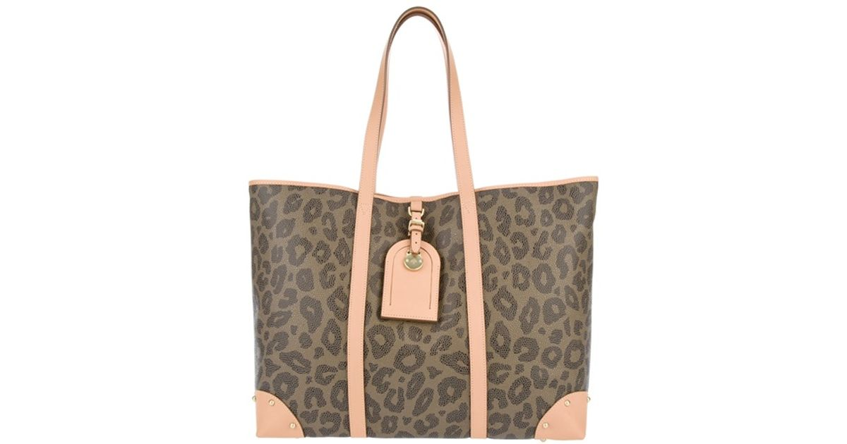 3c05adcadf32 Mulberry Leopard Print Tote - Lyst