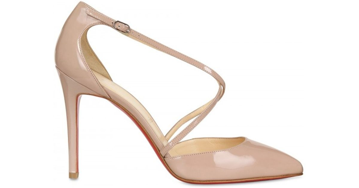 f30b75389a Christian Louboutin New Decollete 868 100mm Pumps Nude