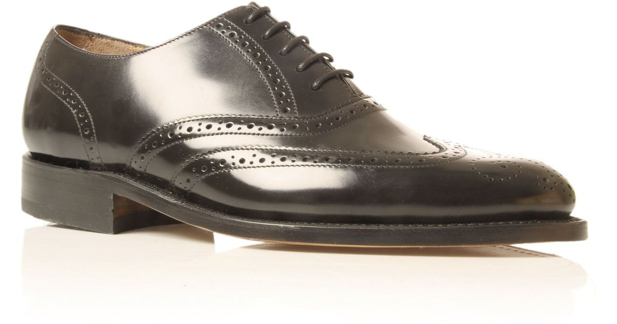 58fa78912be67 Barker Albert G Laceup Shoes in Black for Men - Lyst
