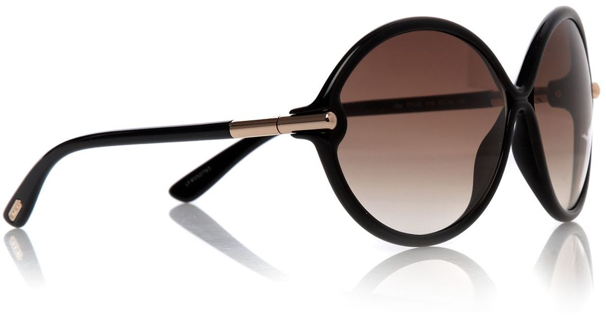 8320723b8c Lyst - Tom Ford Ladies Rita Sunglasses in Brown