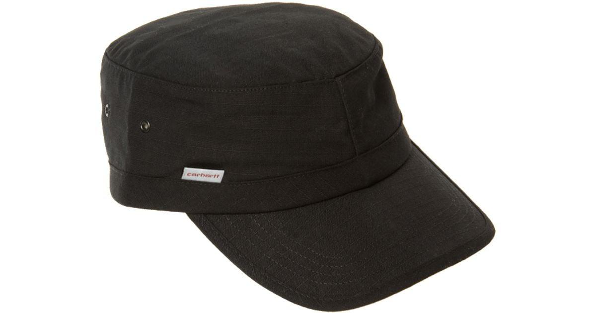 Lyst - Carhartt Carhartt Army Cap in Black for Men 5811e9fa663