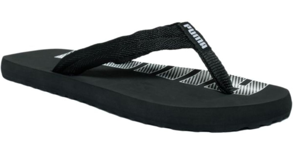 885555f560c7 Lyst - PUMA Epic Flip Flop Sandals in Black for Men