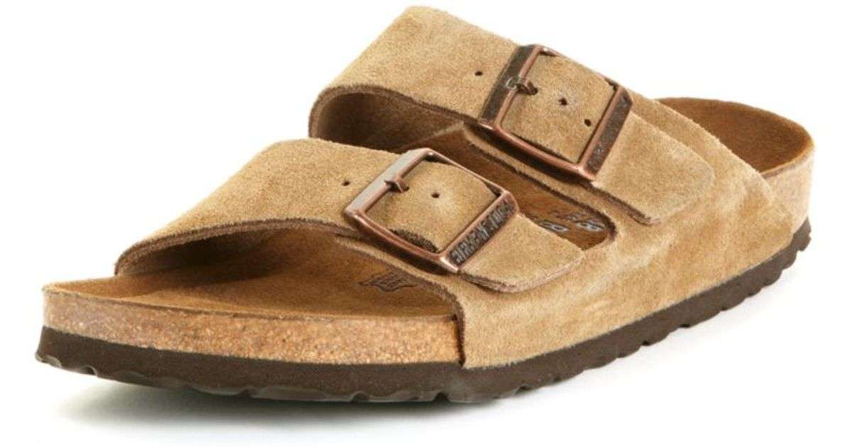 a21961d8b211 Lyst - Birkenstock Arizona Sandal in Natural