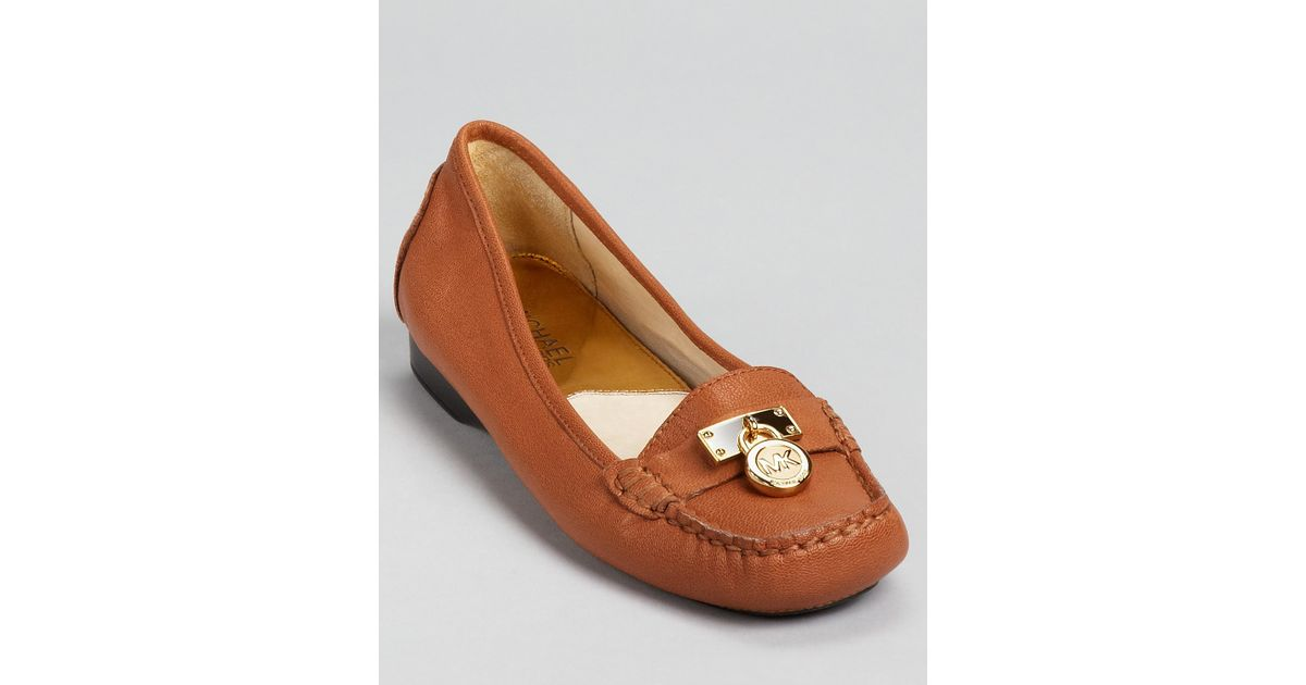 05386248dc3 Lyst - Michael Kors Michael Moccasins Hamilton in Brown