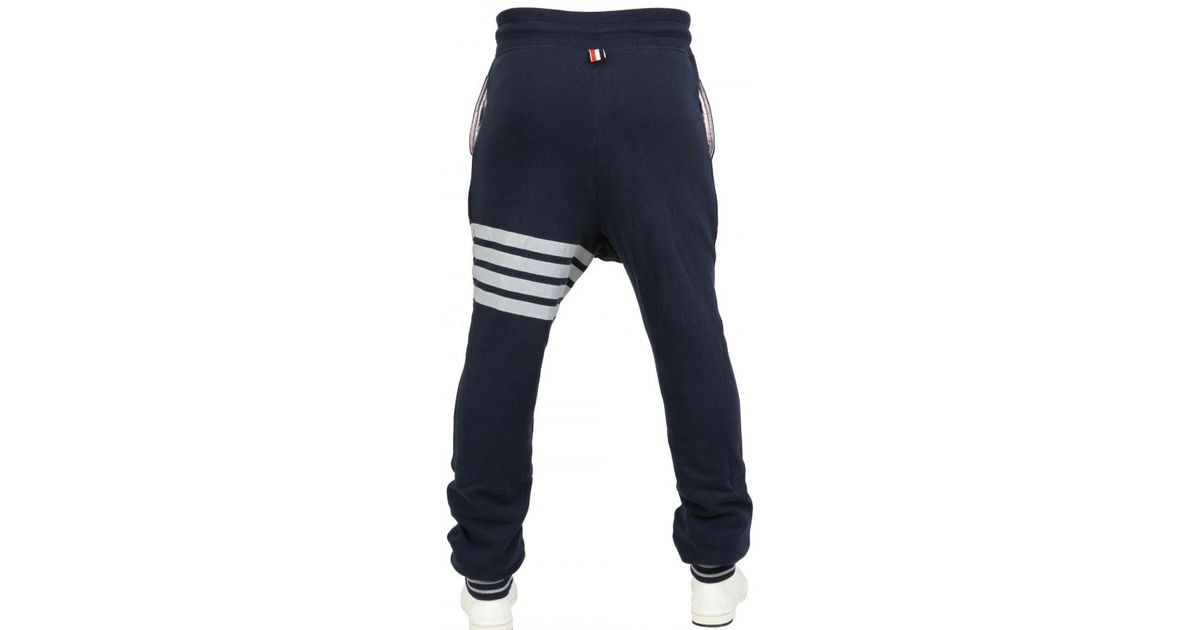 Fashion Style For Sale In China Cheap Online Navy Ripstop Four Bar Zip-Up Lounge Pants Thom Browne Limited Edition For Sale Discount Clearance JjEPaIA