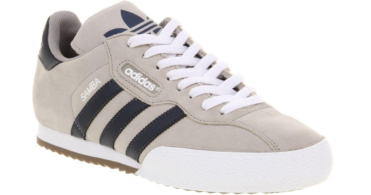 ... ireland adidas samba super allumnavy smu in gray for men lyst db604  90354 43687c916