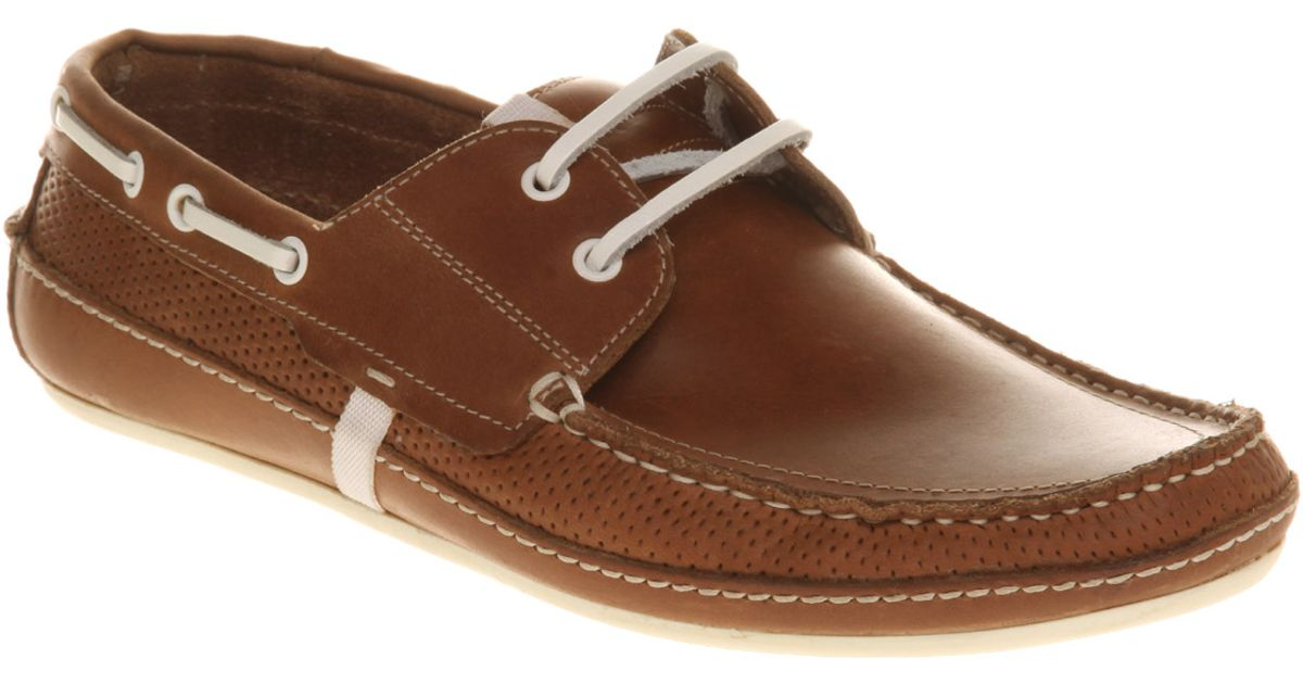H by Hudson Sunseeker Boat Shoe Brown Leather in Brown for Men - Lyst b43ba2045
