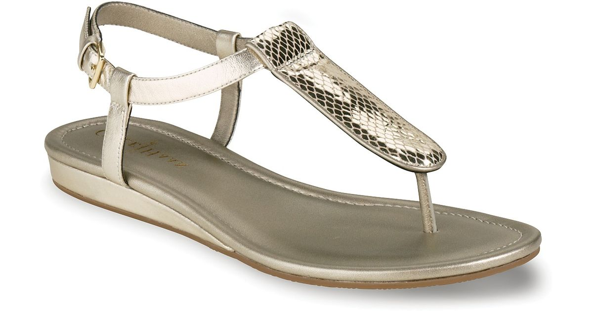 The Cheapest Price Women Cole Haan Molly Flat Sandal Grey - C4F1161392