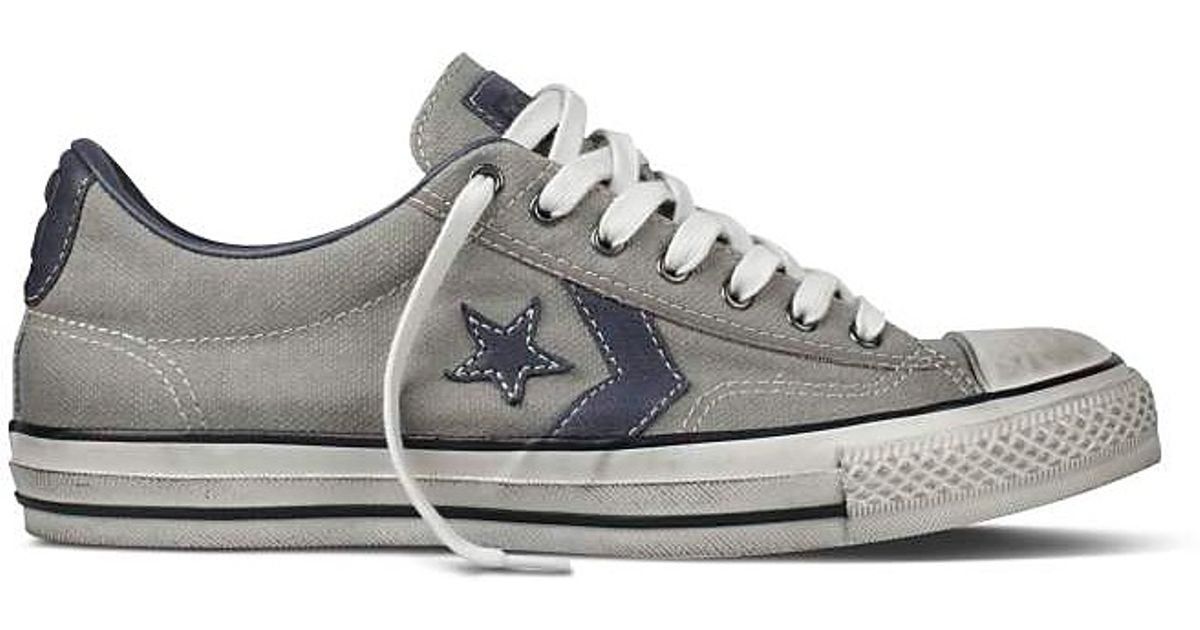 Lyst - Converse John Varvatos Star Player Ox Sneakers in Gray for Men 820fd155a