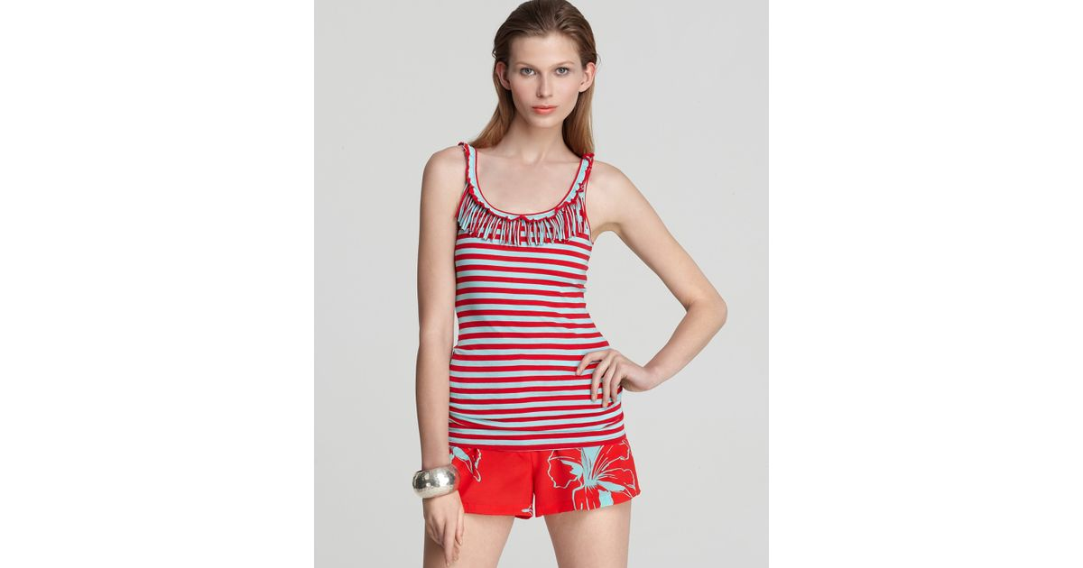 371cd5b034c1 Lyst - Nanette Lepore Oonagh By Tank Striped
