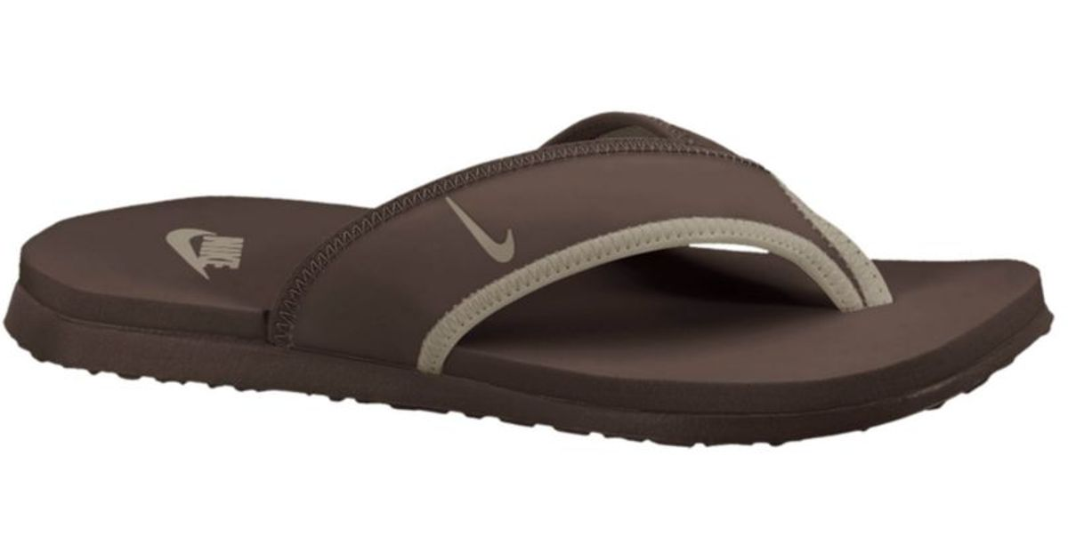 c3a8396d91b Lyst - Nike Celso Thong Plus Sandals in Brown for Men