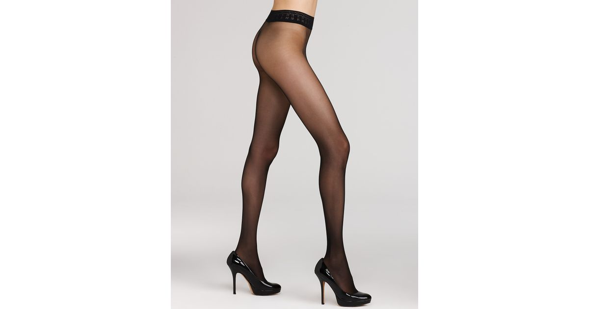 9ed515c572d23 Wolford Seamless Tights Fatal 15 in Black - Lyst