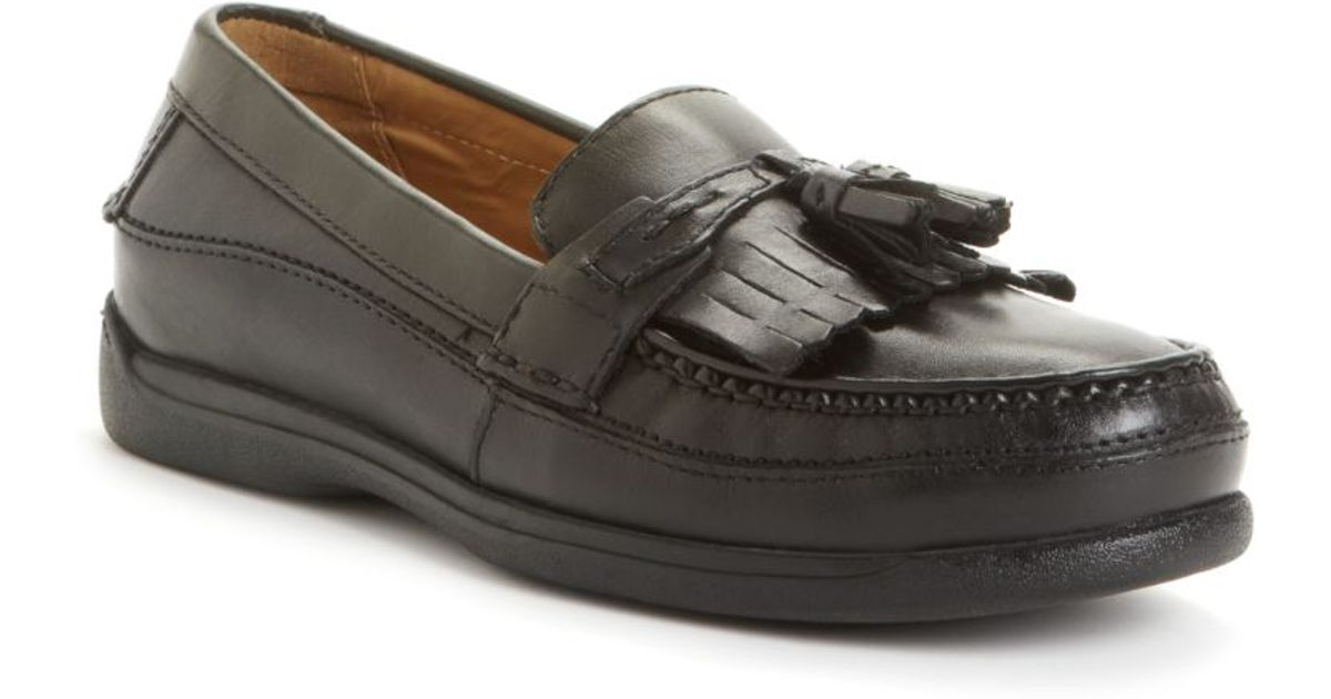 4f80e4483a4 Lyst - Dockers Sinclair Kiltie Tassel Loafers in Black for Men