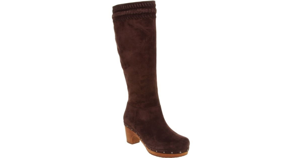 4feccc4ca3993 ugg suede clog boots