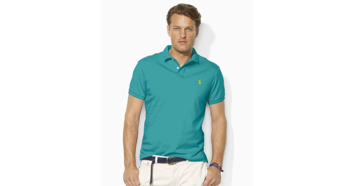 good polo shirts ralph lauren interlock polo