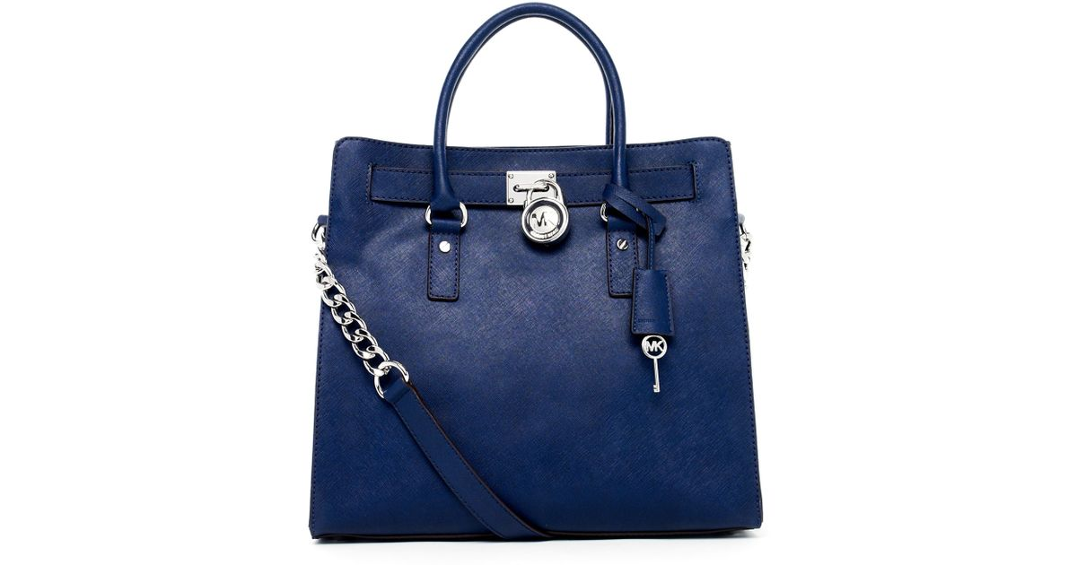 258d9c38c4fadb Michael Kors Navy Handbag - Foto Handbag All Collections ...