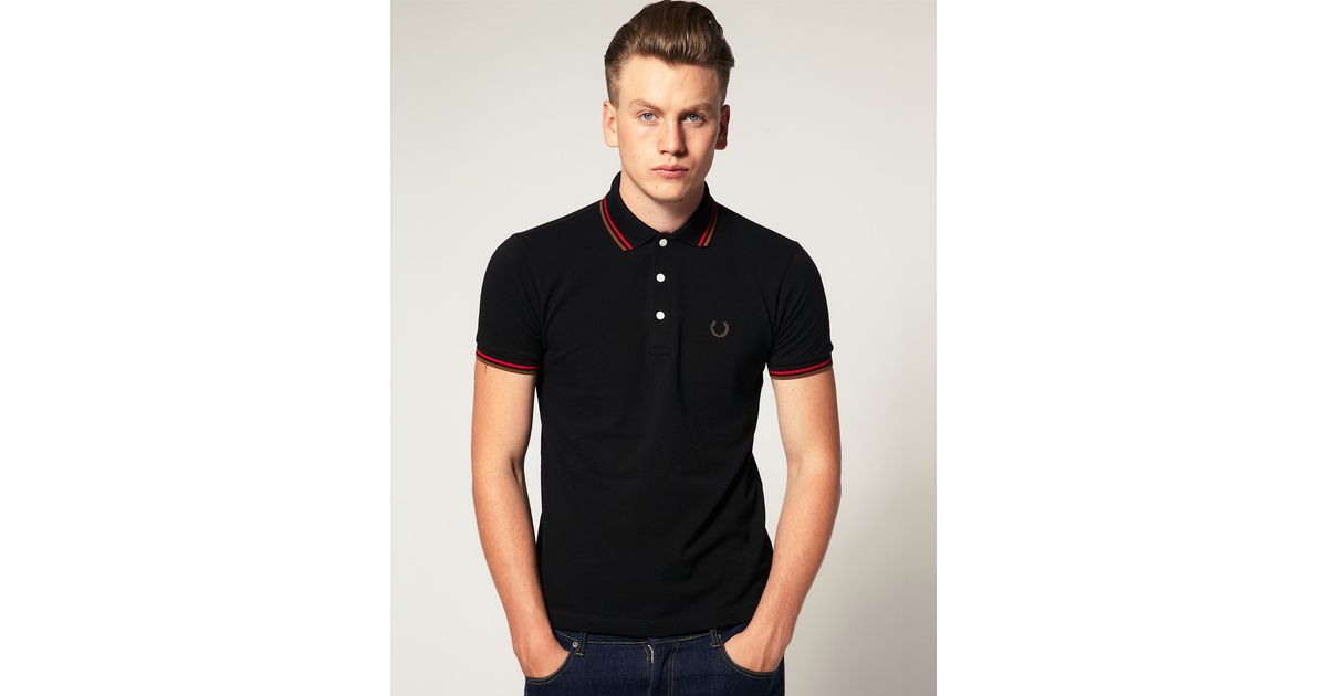 a02b9f0d Fred Perry Fred Perry Ltd Edition Japanese Polo in Black for Men - Lyst
