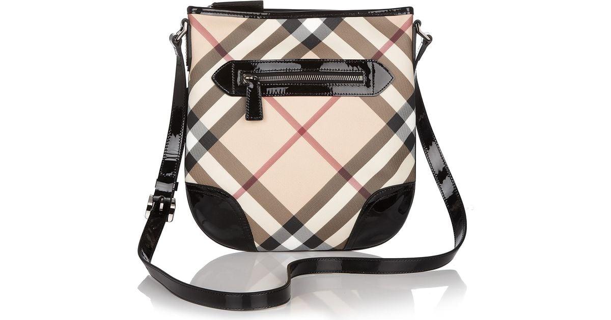 Lyst - Burberry Crossbody Bag in Black a9b6fba0f