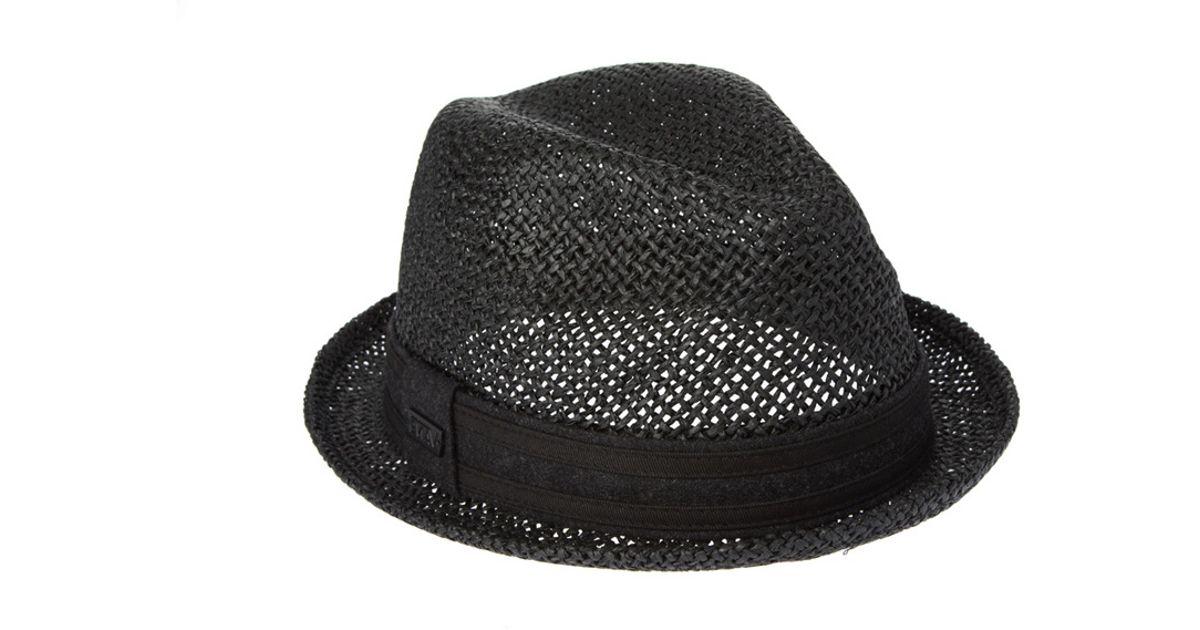 d603fc51954 Lyst - Vans Fedora Hat in Black for Men