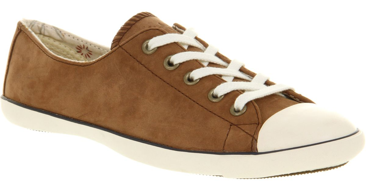 10a9dccdc69c Lyst - Converse Ct Lite Ox Brown Leather in Brown