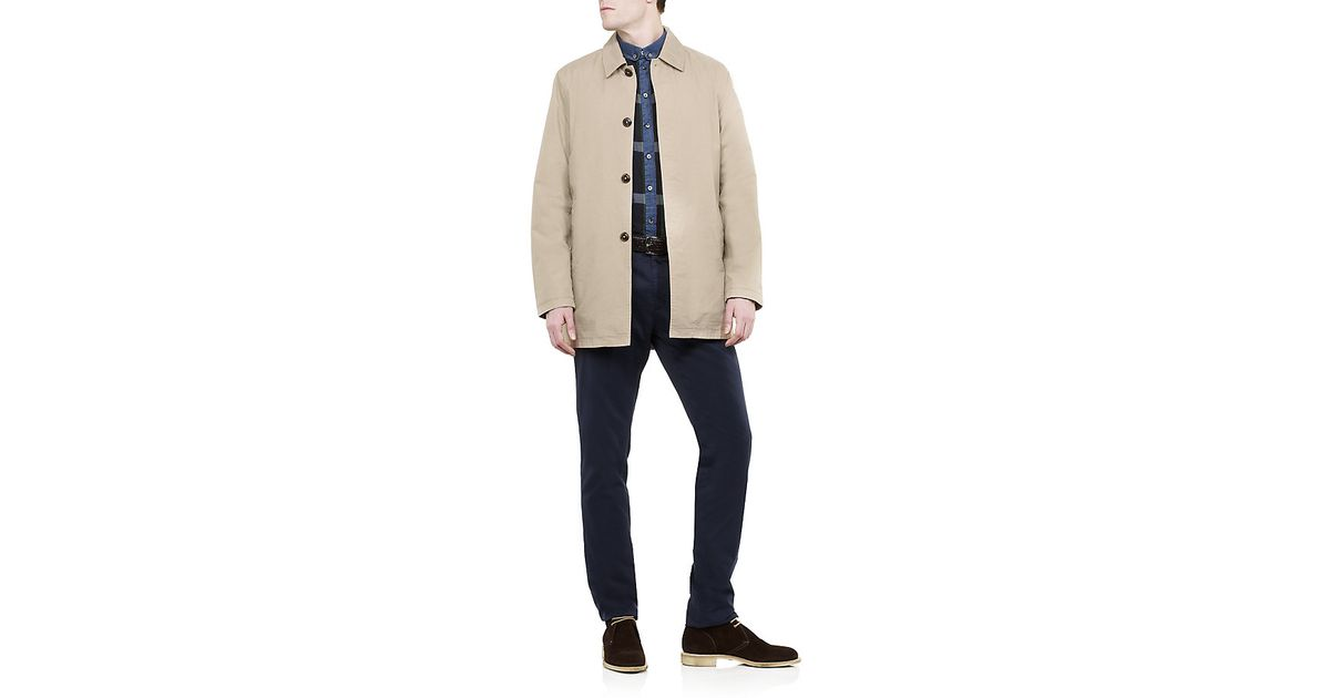 matching in colour official favorable price GANT Natural Trench Coat for men