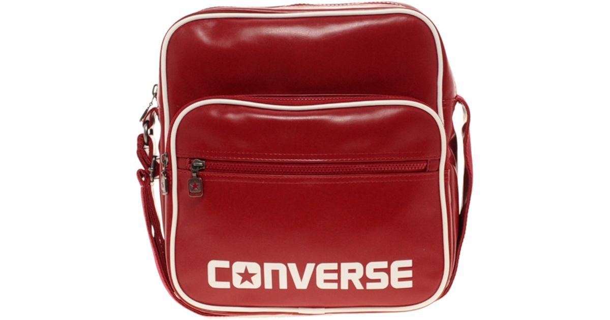 56b9b206764 Lyst - Converse Messenger Bag in Red for Men