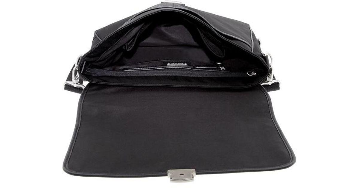 Lyst - Banana Republic Messenger Bag in Black for Men 8c0c53c29d69b