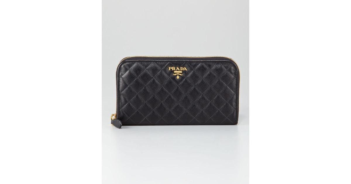prada pink nylon bag - prada saffiano leather oro zip-around wallet, prada black wallet women
