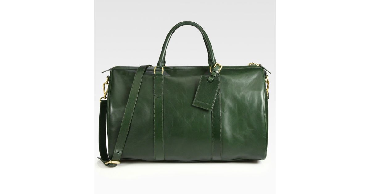 Lyst - Ralph Lauren Gents Day Duffle Bag in Green for Men 2f63b7ededf64