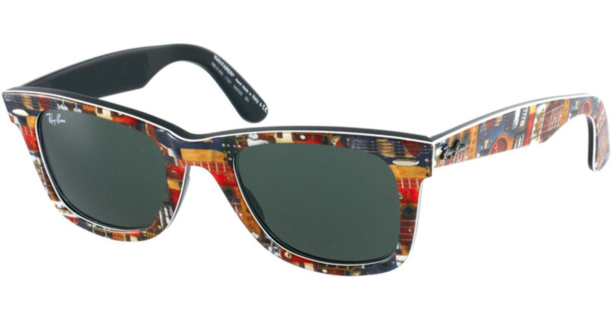 ed03039085 Lyst - Ray-Ban Wayfarer Sunglasses for Men
