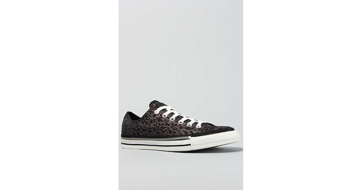 be177a679b0667 Lyst - Converse The Chuck Taylor All Star Side Zip Rand Sneaker in Black  Leopard in Black