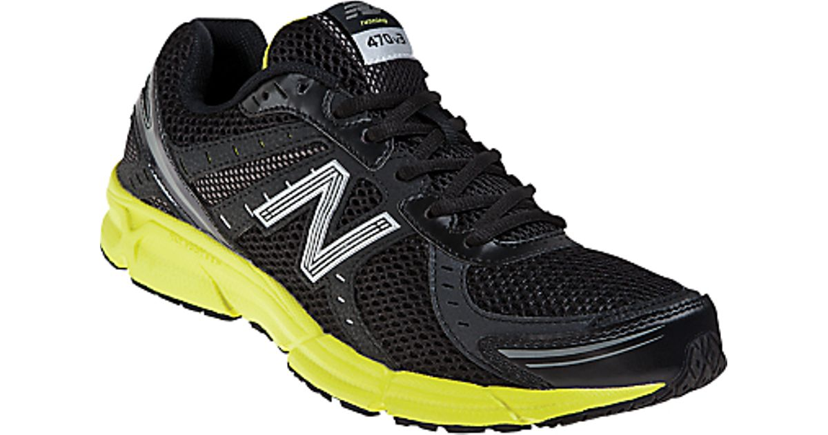 new balance running shoes 470 v2 yellow