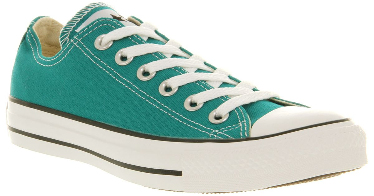 all star converse green