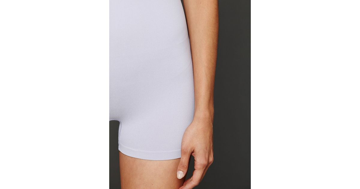 efe7352ef6a7 Intimately - Gray Seamless Romper - Lyst