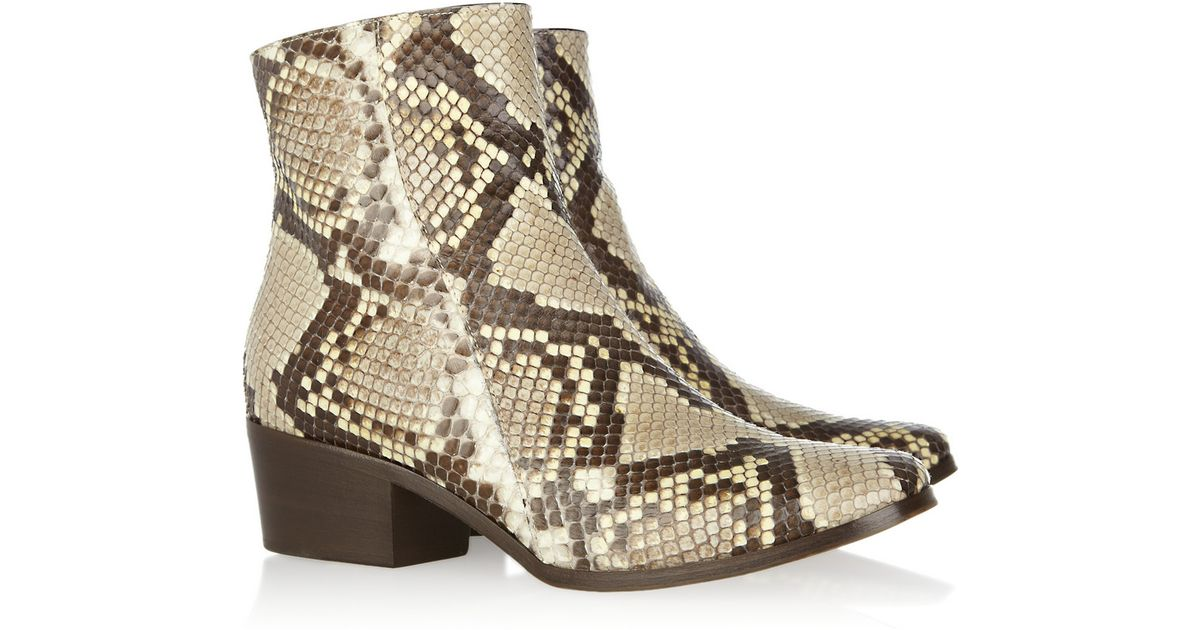 Jimmy choo Python Boots Store For Sale Sale Pictures Amazing Price Sale Online Prices Sale Online Cheap Supply QJCpeqP