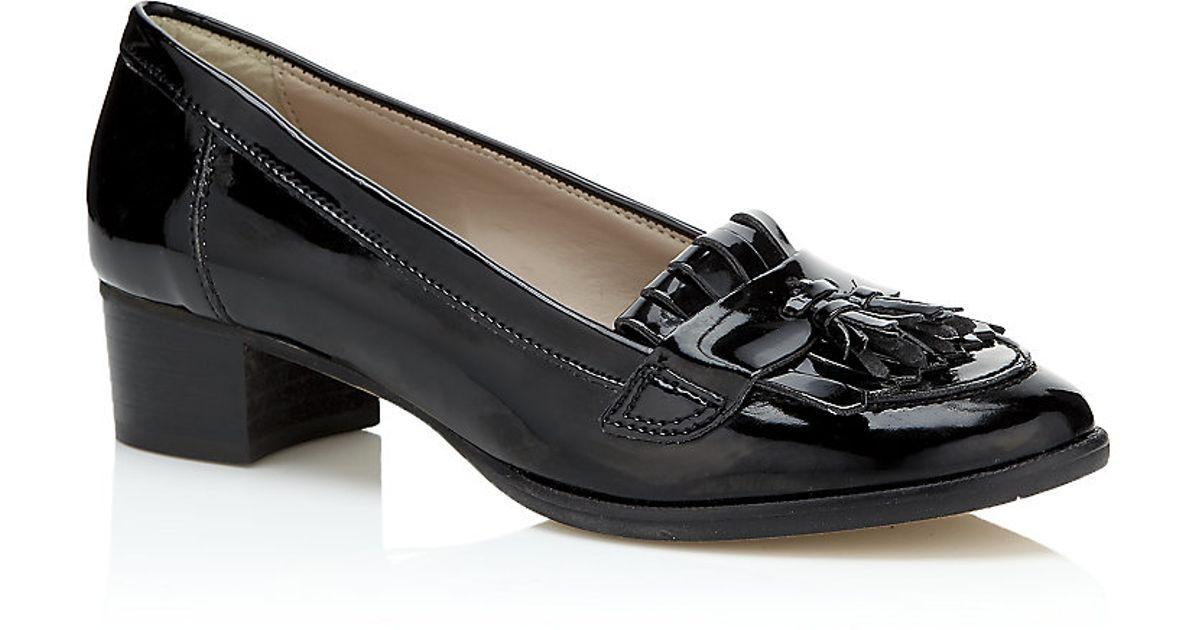 Tassle Patent Loafer - Black Carvela MMNR1P