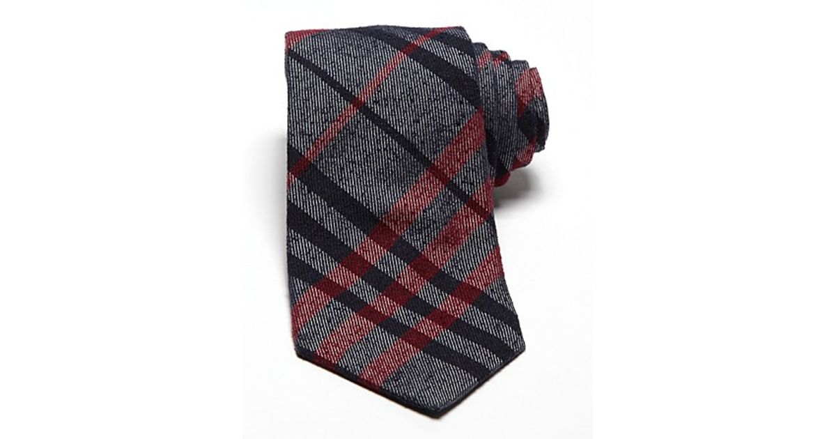f5899435fb69 ... low cost lyst burberry london eaton classic tie in blue for men 4bf83  71130
