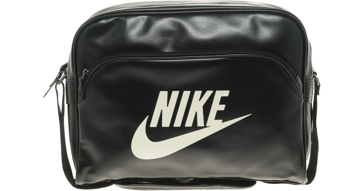 Men Lyst Messenger Black Bag In Nike For Heritage OPZTiuwkXl