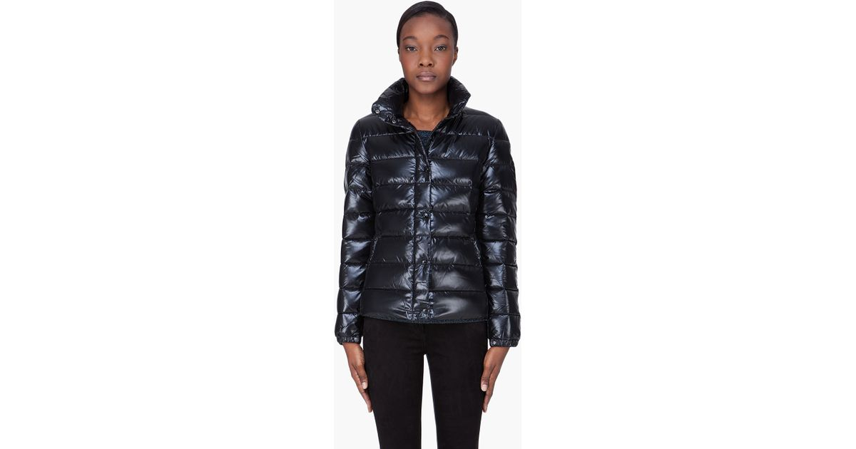 ... coupon code for lyst moncler clairy jacket in black f79f7 141b0 4cca9f5dd