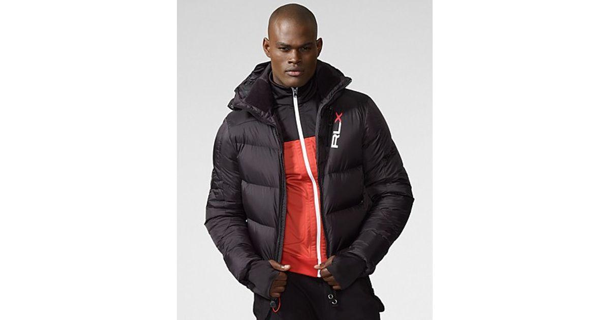 ea5d6e69 Lyst Ralph Lauren Rlx Ripstop Core Down Jacket In Black For Men