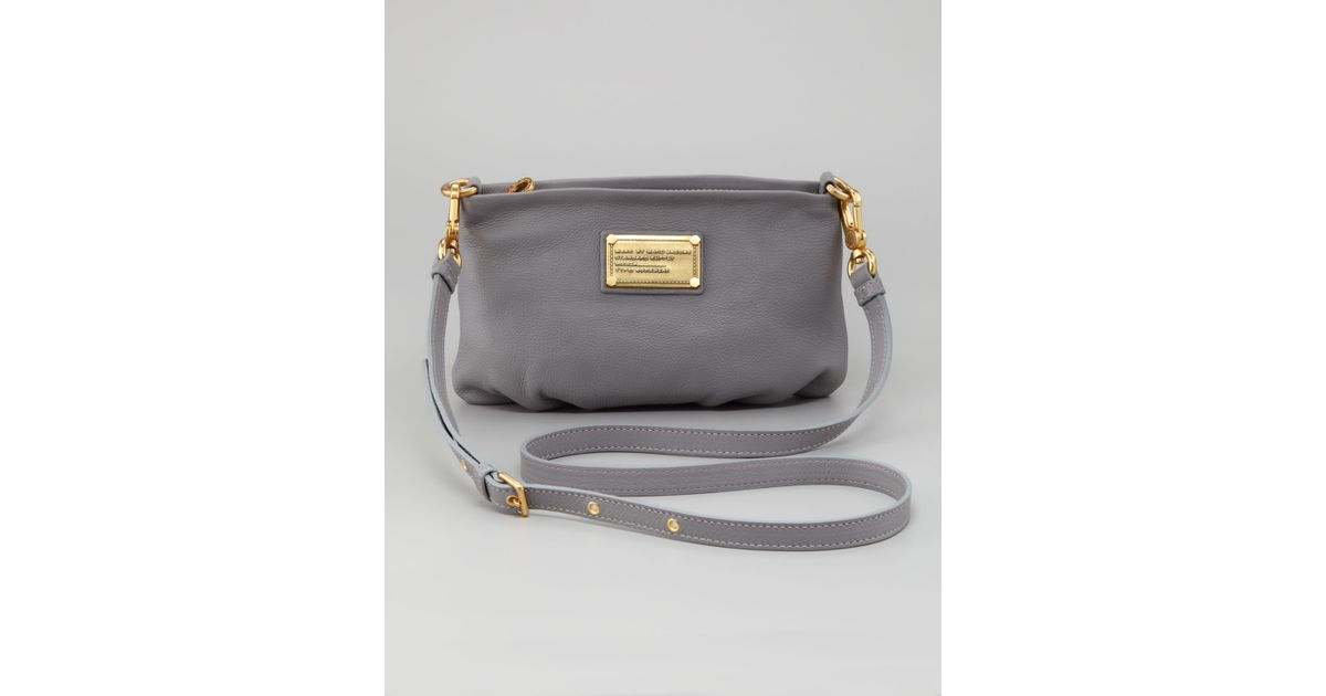 10483ce70e3a3 Lyst - Marc By Marc Jacobs Classic Q Percy Crossbody Bag in Gray