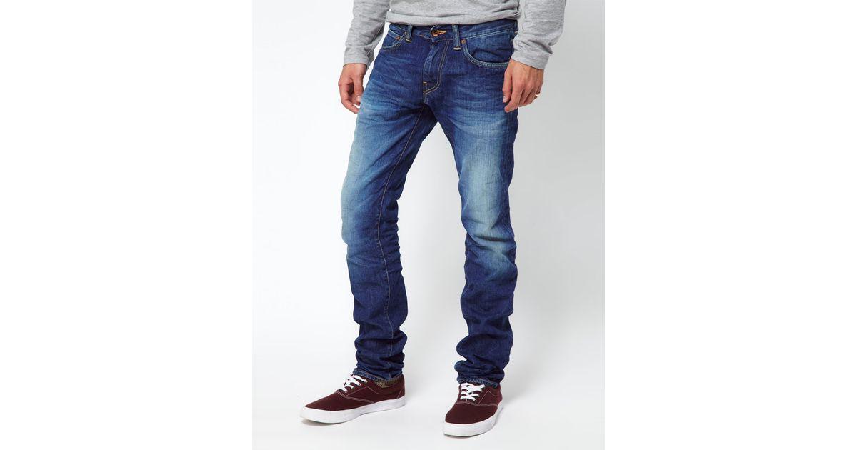 Loyalty and Faith Pillar Slim Stretch Jeans in Dark Wash - Blue Loyalty & Faith eN23E41w