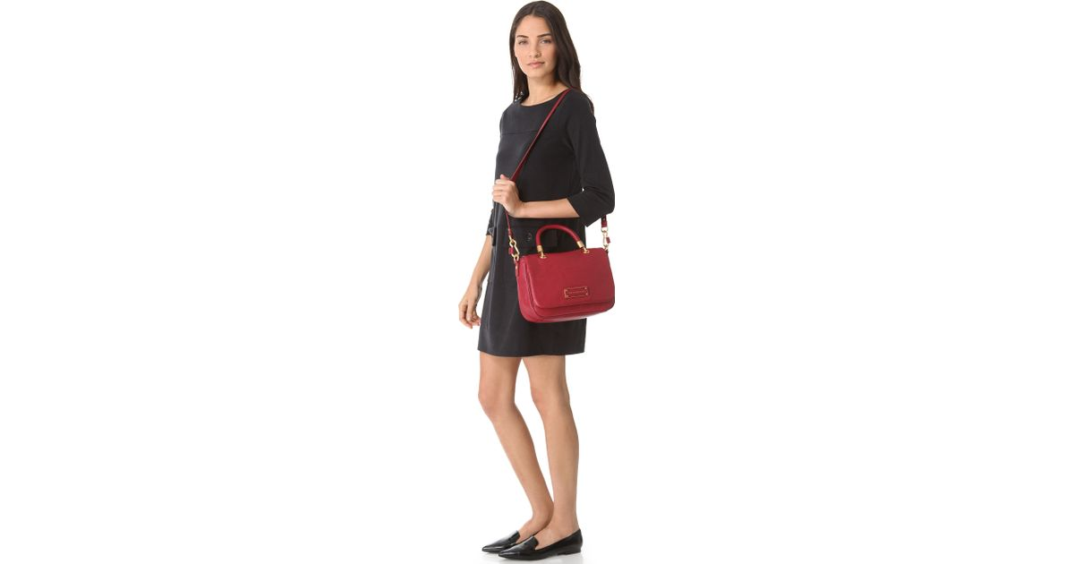706805944960 Lyst - Marc By Marc Jacobs Too Hot To Handle Small Top Handle Bag in Red